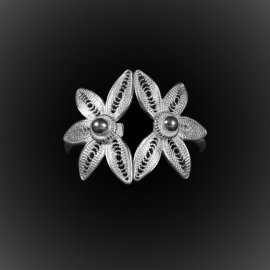 Bague Hawaiian Dream en filigrane d'argent